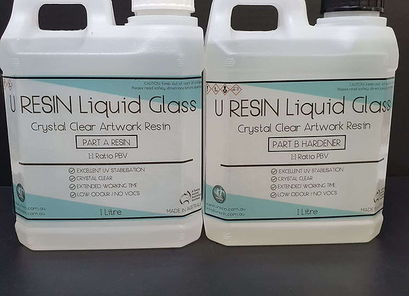 U Resin Liquid Glass 20 Litre