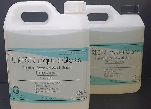 U Resin Liquid Glass 4 Litre