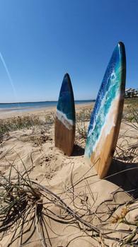 Mini surfboards
