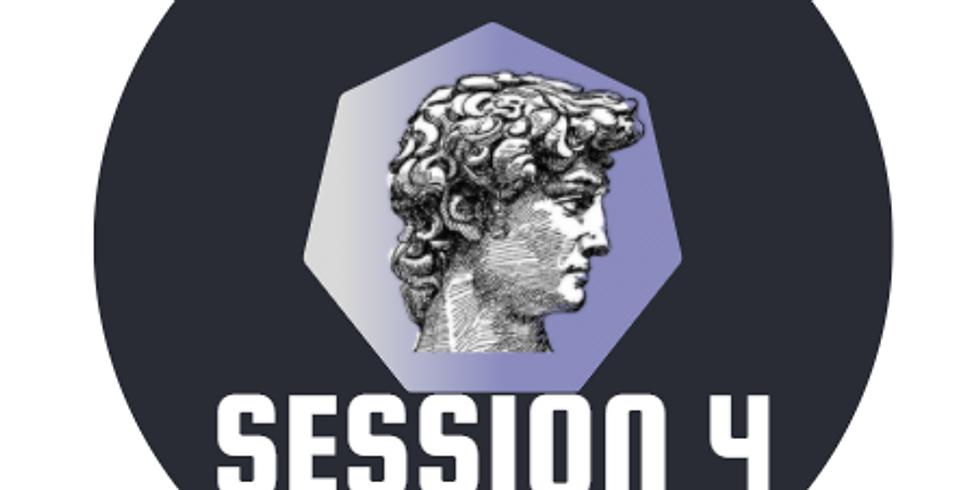 Session 4: (7/26 - 7/30) $200