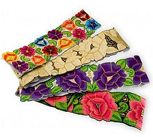 Mexican-hand-EMBROIDERED-Folk-art-multi-