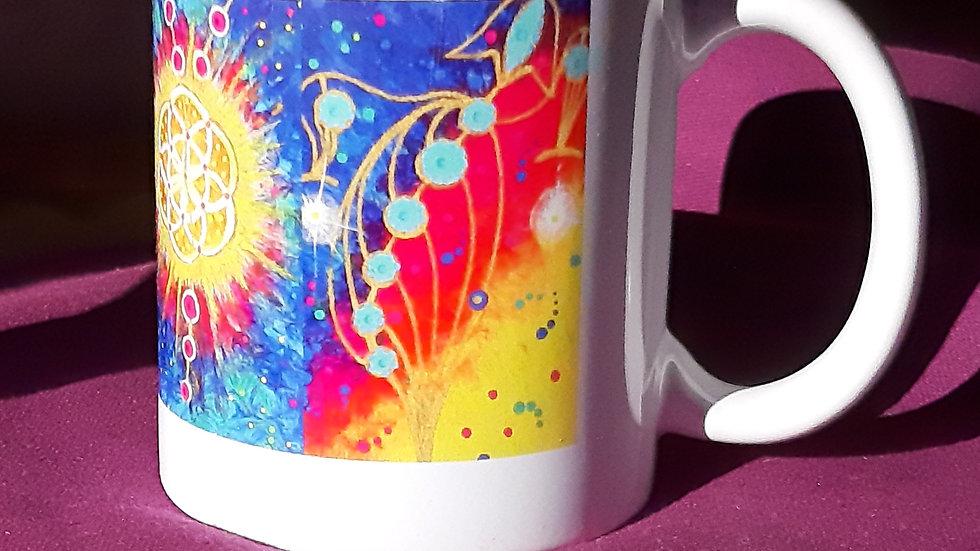 Tasse Mug imprimée blanche