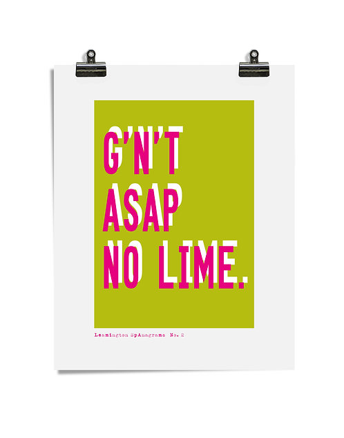 G'N'T ASAP NO LIME