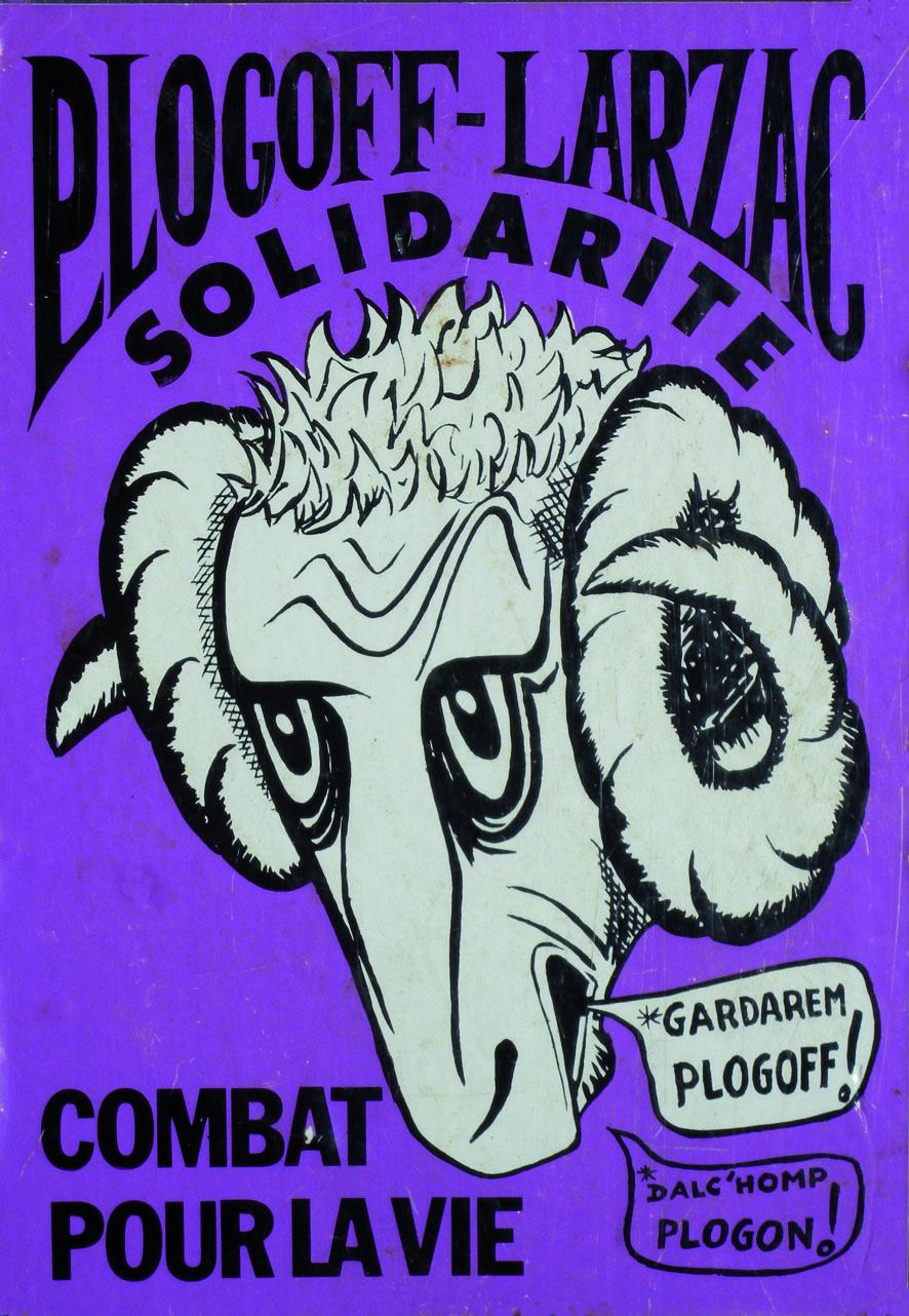 Plogoff Larzac - Solidarité