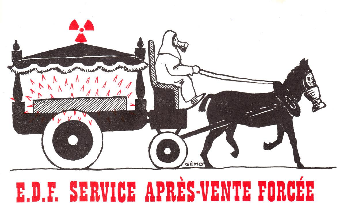 EDF. Service après-vente forcée