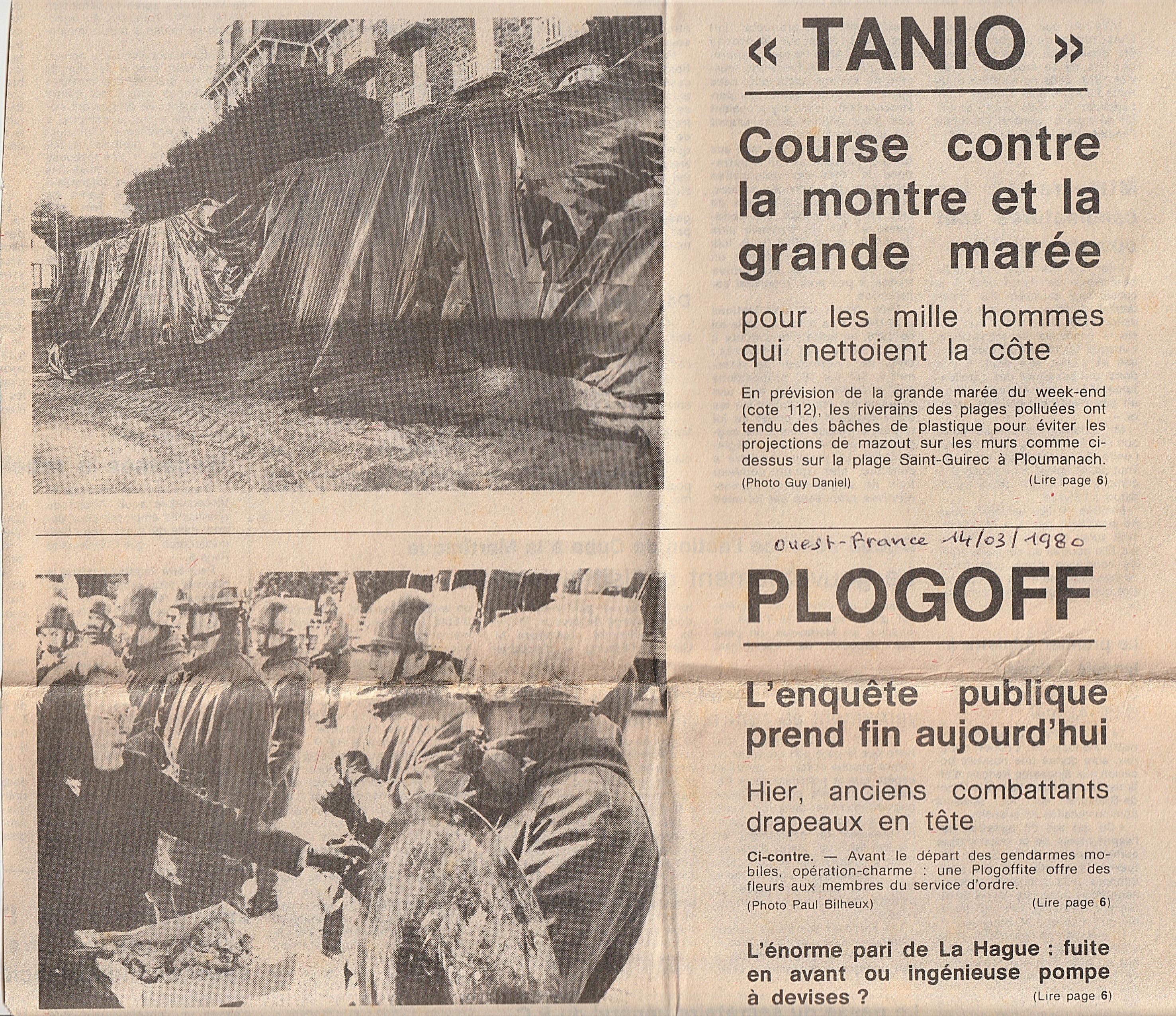 Enquête Plogoff-Tanio 14-03-80