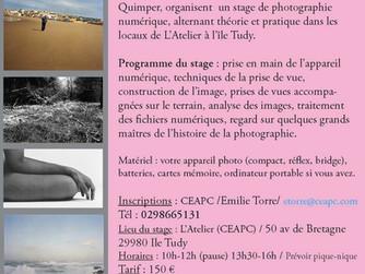 Stage de photographie numérique