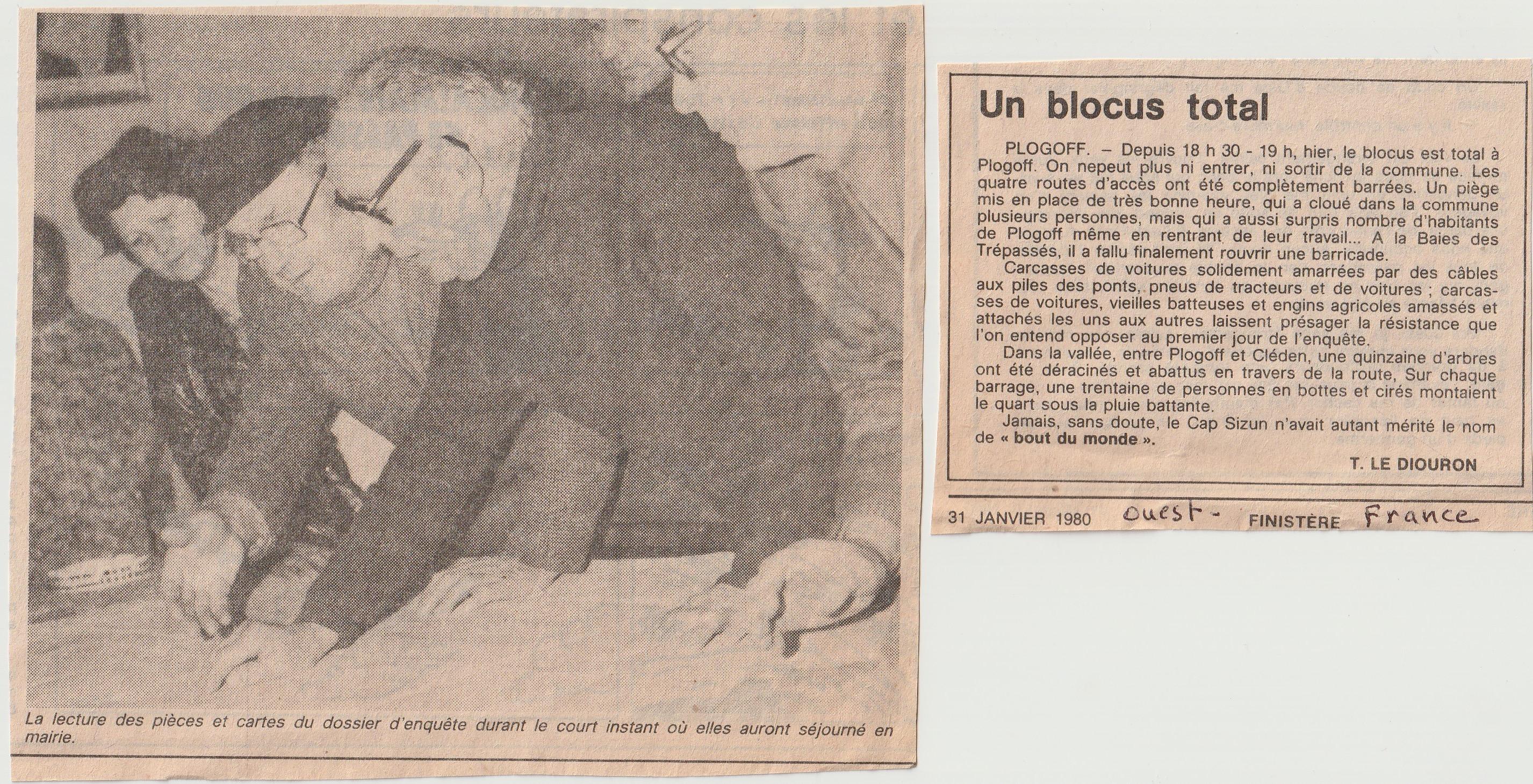 Prologue Un blocus total 31-01-1980