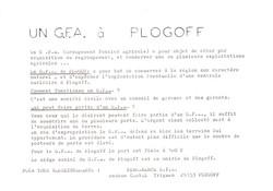 1979... Un G.F.A. à Plogoff