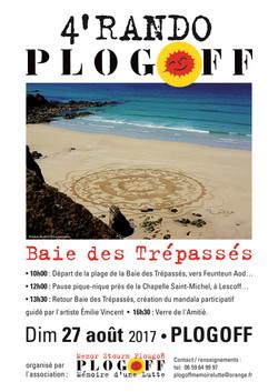 affiche 4 rando Plogoff