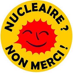 Nucleaire non merci (jaune)