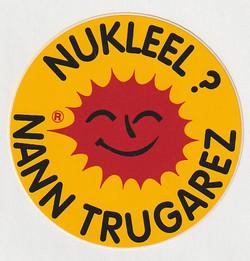 Le soleil antinucléaire breton