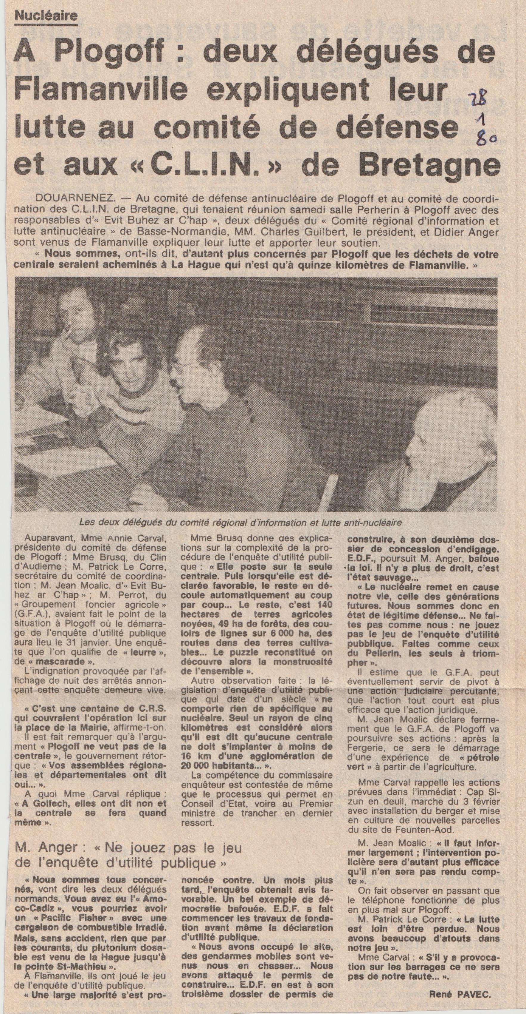 Délégués CRILAN Flamanville à Plogoff 28