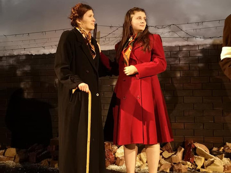 Ghetto: The Irene Sendler Story. Class Act Productions. Cleethorpes Parkway 13 February 2020