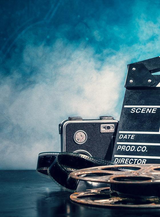 Retro film production accessories still