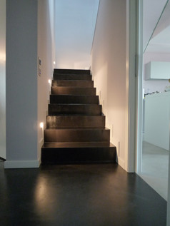 stairs in black