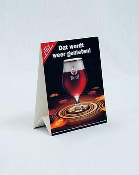 Tafelkaart bier