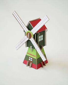 3D kaart - windmolen