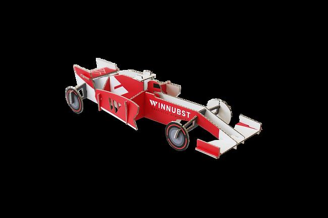 3D kaarten - Formule 1 auto