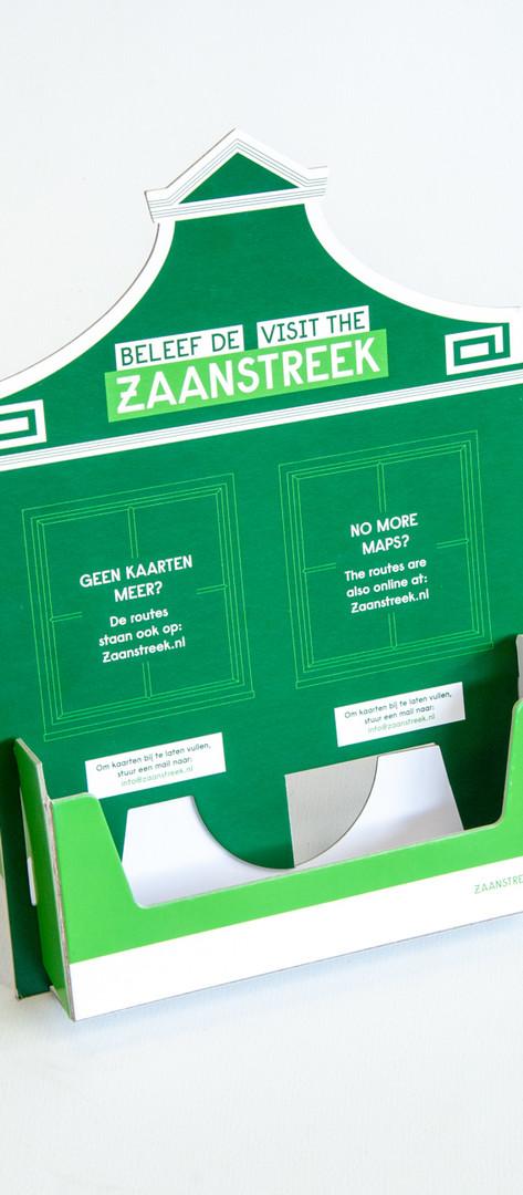 Folderbakje - groen