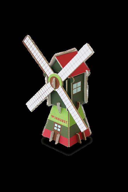 3D kaarten - windmolen