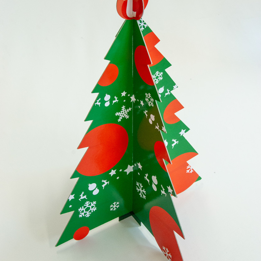 Point of sale materiaal kerst