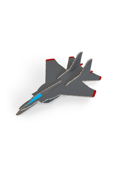 3D kaarten - Straaljager