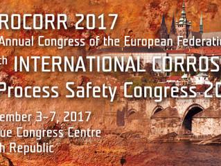 DIAMOND sera présent au congrès EUROCORR 2017 du 3 au 7 sept 2017