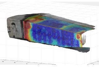 L'interface de visualisation 3D est en cours de développement