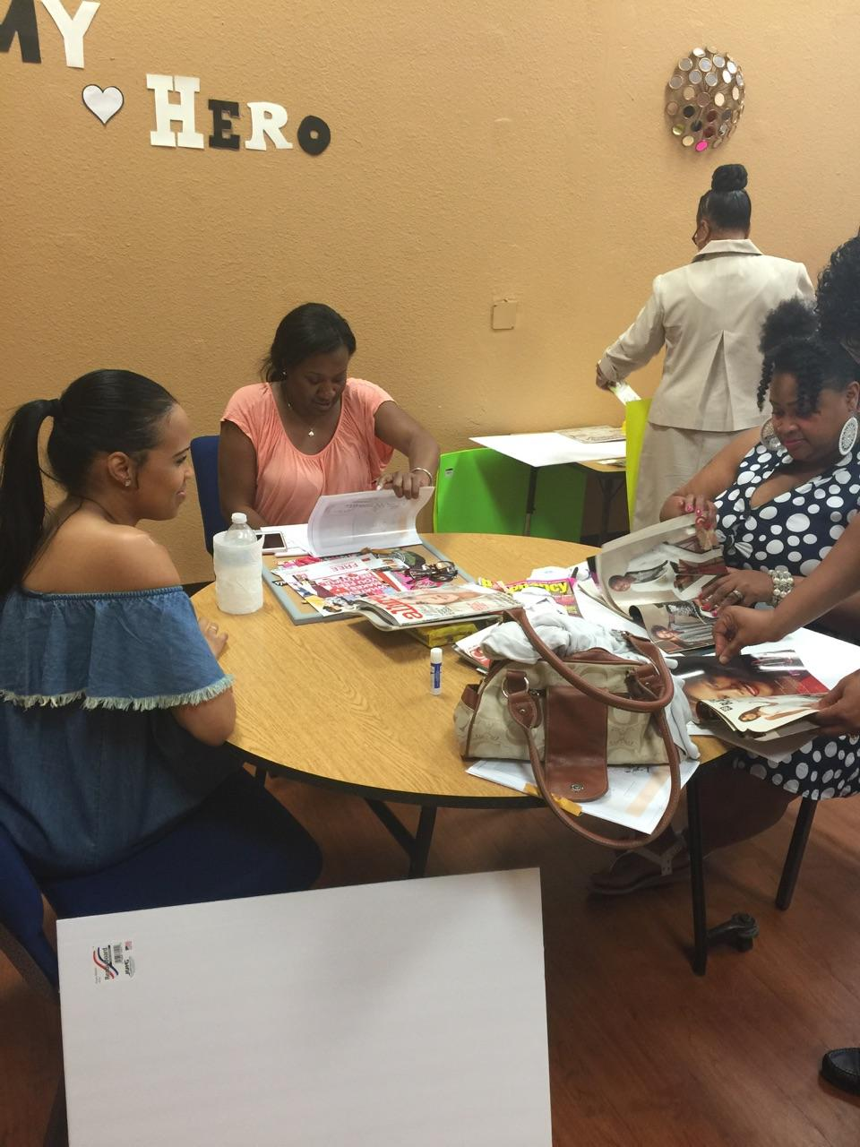 Women's Ministry Vision Board Party