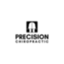 Precision Chiropractic Vertical Black (1