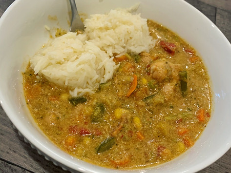 COCONUT CHICKEN CURRY 🥥 🍛