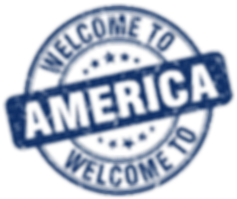 welcome-to-america-blue-round-vintage-st