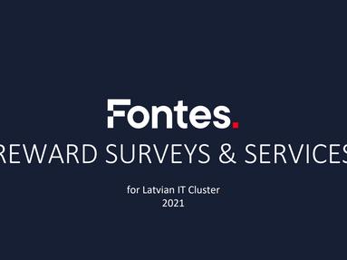 """""""Fontes"""" 2021. gada atalgojuma pētījuma piedāvājums"""