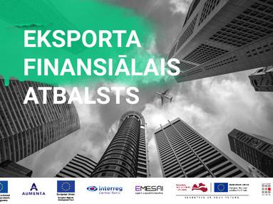 """Online tikšanās """"Eksporta finansiālais atbalsts"""""""