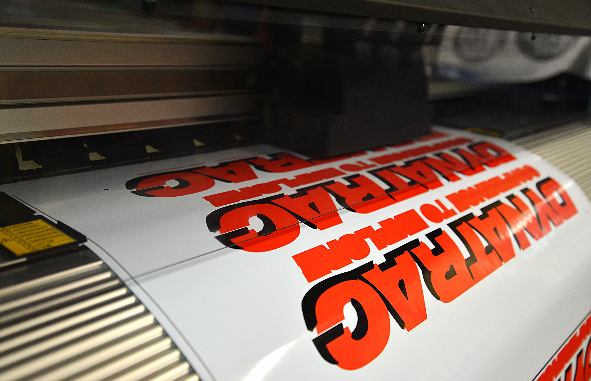 Digital Printing Head In Action