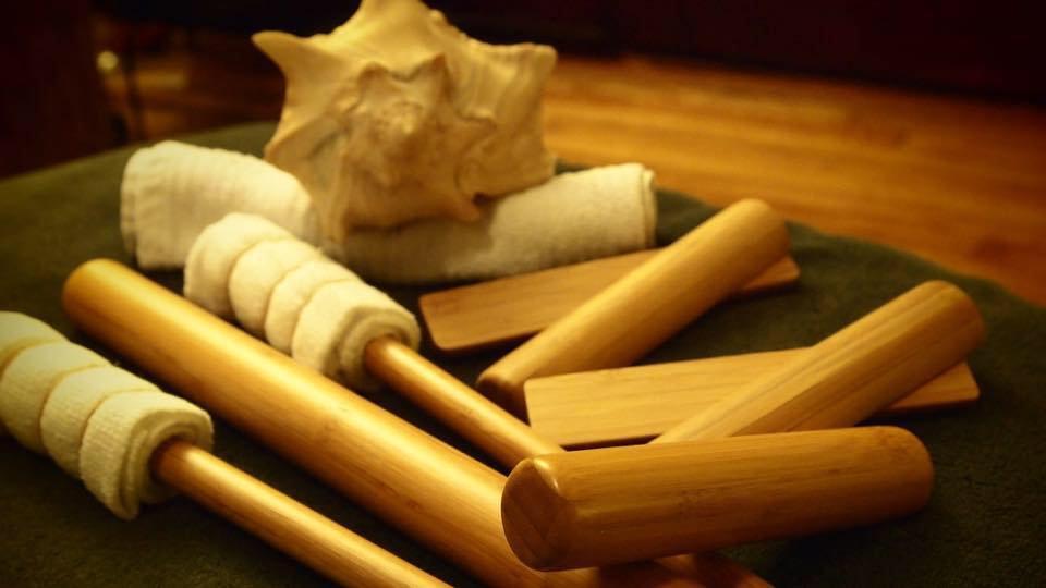 Bambusmassage - 60min