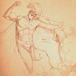 Hulk Love Superman