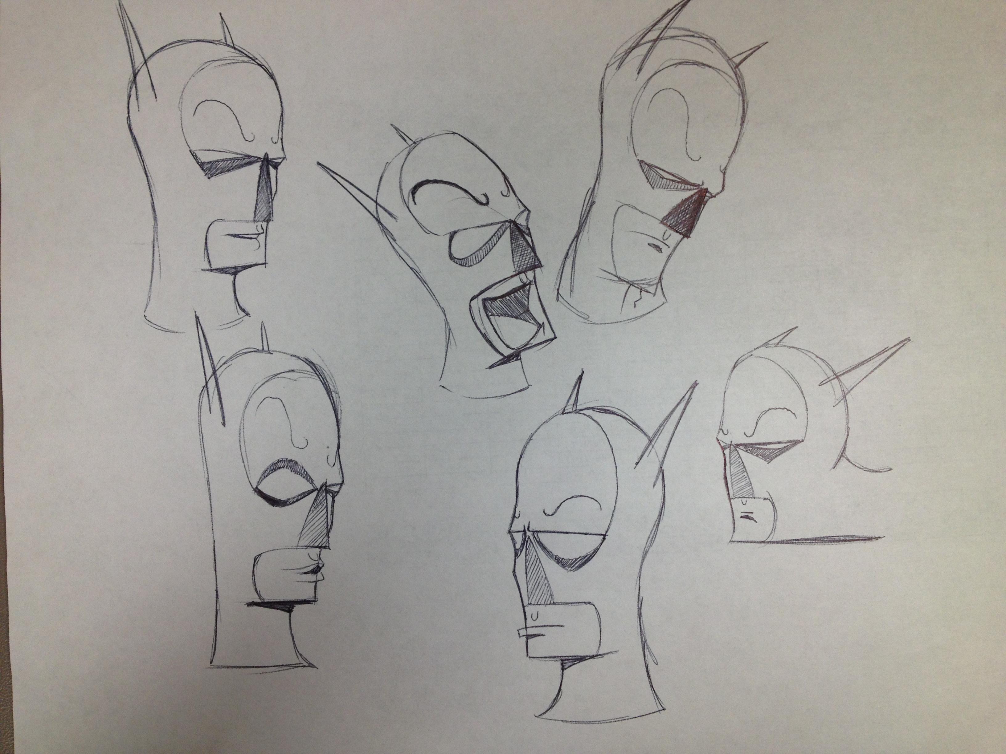 Batsman Concept Art