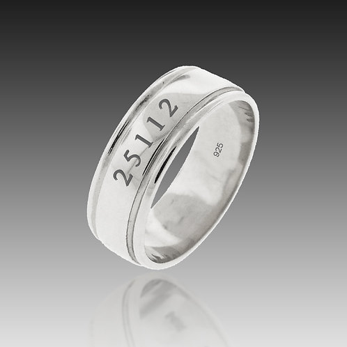 Sterling Silver Original 7mm Band of Infinity™