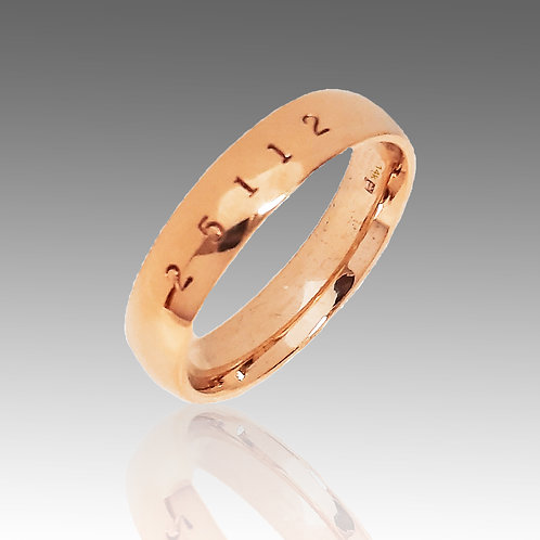 14k Rose Gold 5mm New Classic Band of Infinity™