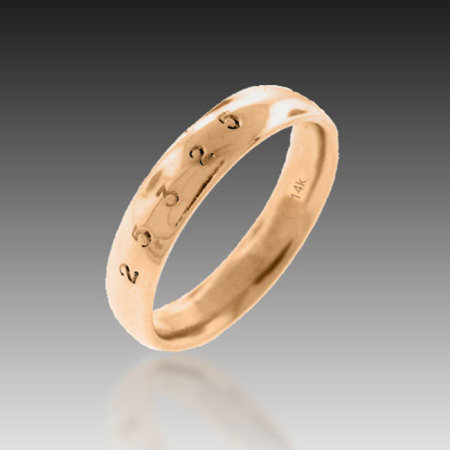 14kt RG Classic Band of Infinity
