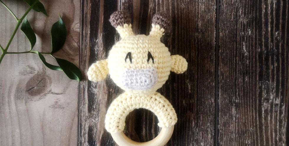 Eco Teething Ring - Collect Me Giraffe