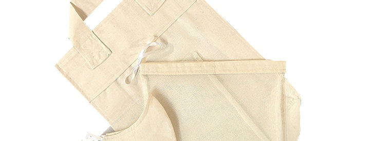Plain Kind Shopper Kit - 6 shopper bags, 3 produce bags, 1 mask