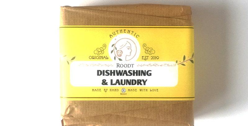 Roodt Dishwashing and Laundry Soap Bar