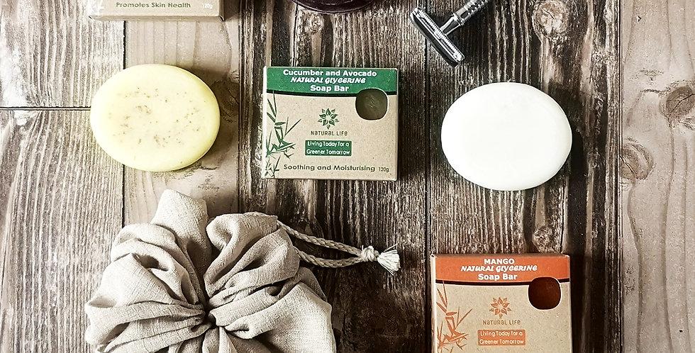 Natural Glycerin Soap Bar