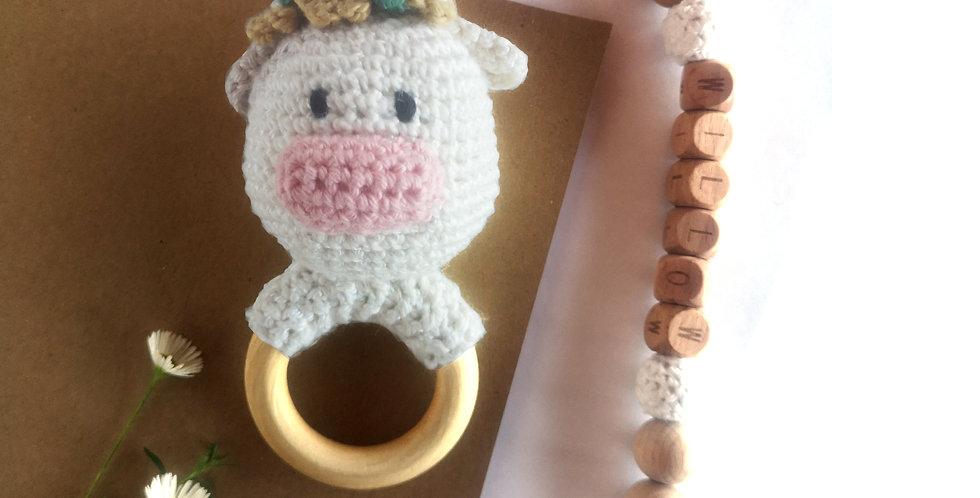 Personalized Eco-baby Gift Set - Moo