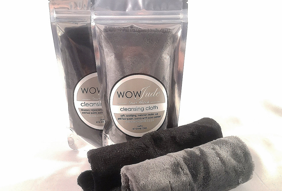 Make-Up Removing cloth by Wow Jude - Grey