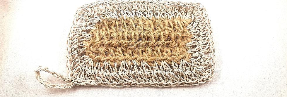 Hemp and Jute Dishcloth - 12cmx8cm