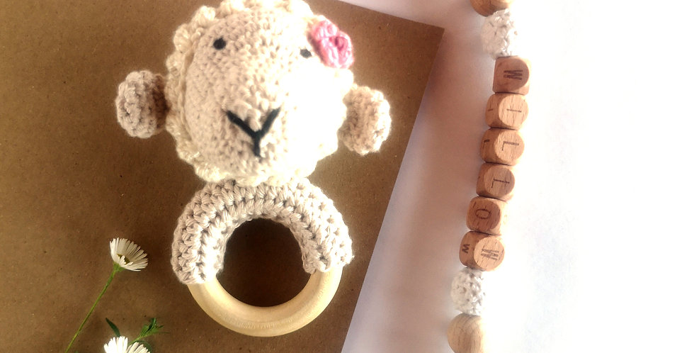 Personalized Eco-baby Gift Set - Skapie